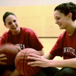 The Church sisters are hoping to up Kwantlen's game. Kimiya Shokoohi / The Runner