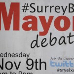 Mayor debate comes to Kwantlen