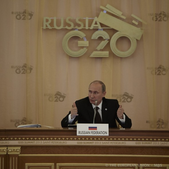 GOING GLOBAL 8.20 - Putin-RussiaG20-2013-Herman Van Rompuy