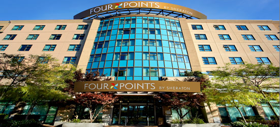 Four Points by Sheraton hotel near YVR.