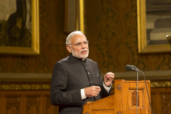 Modi urges lawmakers to work for progress in aspirational districts