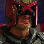 Actor Karl Urban plays the new Judge Dredd