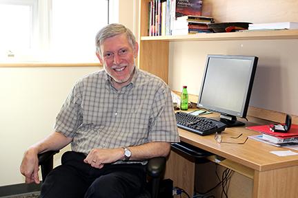 KPU sociology instructor Sam Migliore. (Samantha Lego/The Runner)