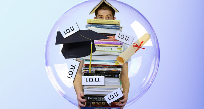 Student debt is wack. (pixabay)