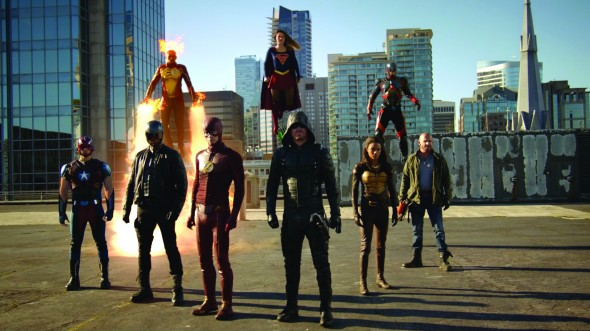 The Flash, Arrow, Supergirl, DC's Legends of Tomorrow S2E07