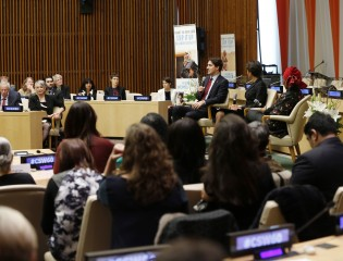 Canadian Prime Minister and UN Women Executive Director call on global leaders to do more for gender equality
