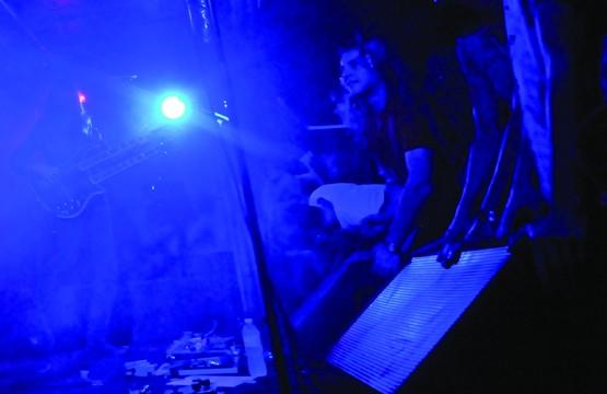 Boris fans were in a blue psych-haze on Tuesday, Oct. 11. KRISTI ALEXANDRA/THE RUNNER