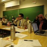 Students-at-large attend the April 14 KSA council meeting where major changes to the regulations were made. Photo by Matt DiMera/The Runner