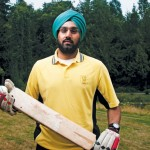 Kwantlen economics student Monty Purewal is bringing cricket to campus this fall. MATT LAW / THE RUNNER