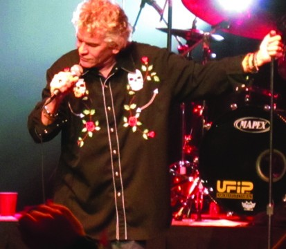 Dan McCafferty missed a few high notes, but his voice is still intact, considering it's been raspy since 1968. Photo by Jacob Zinn.
