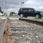 Existing Rail lines in Surrey and the Fraser Valley may provide a cost effective solution to improving transportation throughout the entire region.  (Matt Law/The Runner)