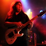 Symphony X guitarist Michael Romeo gave the crowd chills at the band's Feb. 14 show at The Commodore Ballroom. (Jacob Zinn/The Runner)