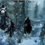 These graphics of majestic horses of the Stormcloak Army give mystical Skyrim a sense of realism. Tomi Tapio/Flickr.