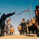 (Center) SAM WORTHINGTON as Perseus in a scene from Warner Bros. Pictures and Legendary Pictures action adventure WRATH OF THE TITANS, a Warner Bros. Pictures release.