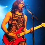 Rhythm guitarist and backup vocalist Russ Parrish hams it up for his potential Vancouver groupies. JACOB ZINN/THE RUNNER