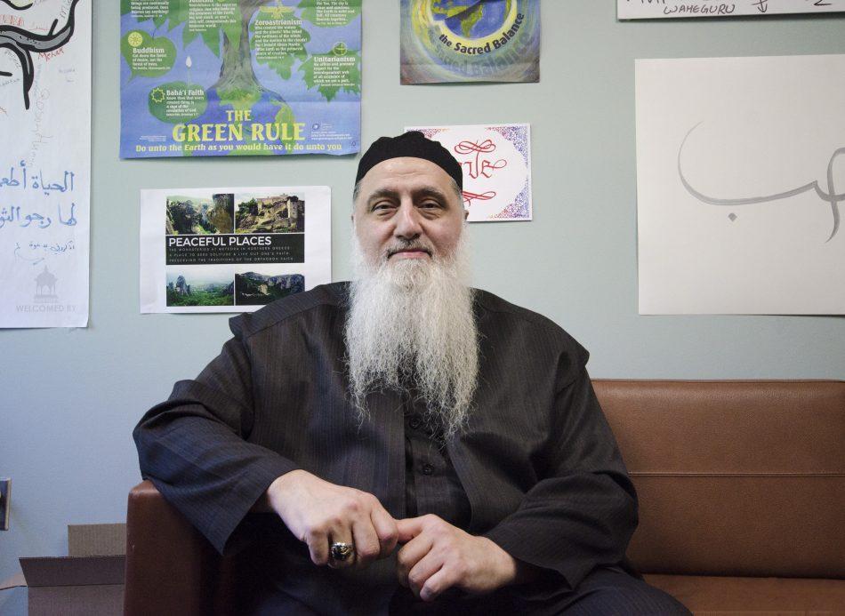 New KPU Multifaith Centre chaplain Shaykh Nurjan Mirahmadi. (Braden Klassen)