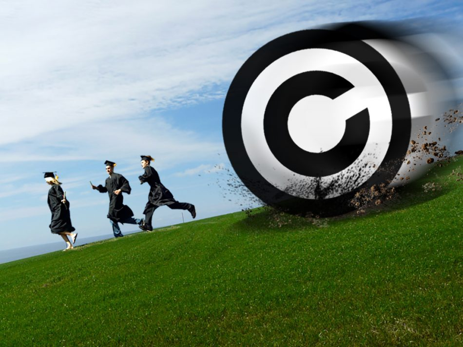 Since 2012, students have been able to freely use limited amounts of copyrighted material for educational purposes. Advocates worry that the current review of the Copyright Act could change or remove this exemption. (Braden Klassen)
